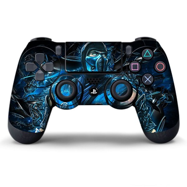 Adesivo de Controle PS4 Mortal Kombat Mod 06