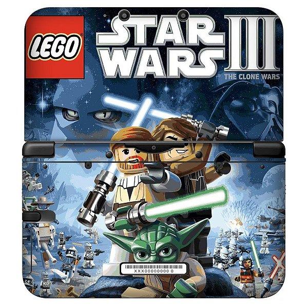 Adesivo Skin de Proteção 3ds XL Lego Star Wars