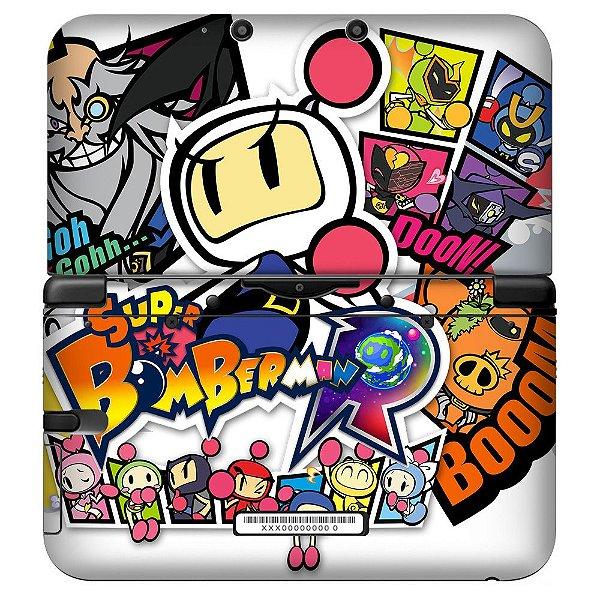 Adesivo Skin de Proteção 3ds XL Super Bomberman