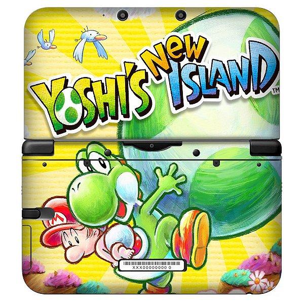 Adesivo Skin de Proteção 3ds XL Yoshis Island Mod 01