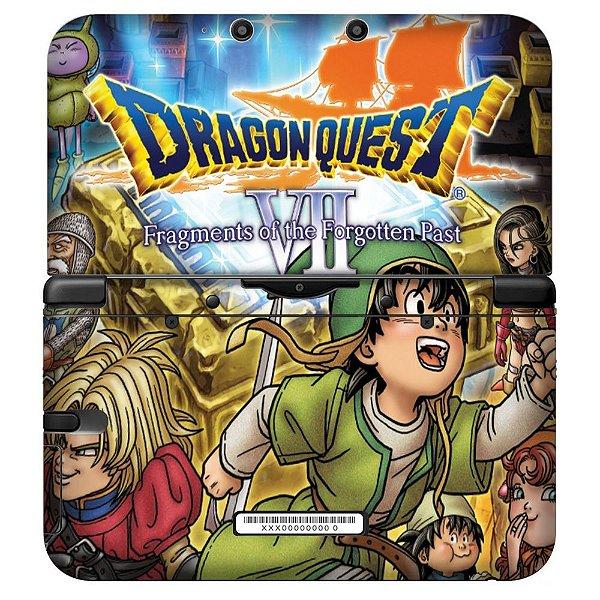 Adesivo Skin de Proteção 3ds XL Dragon Quest