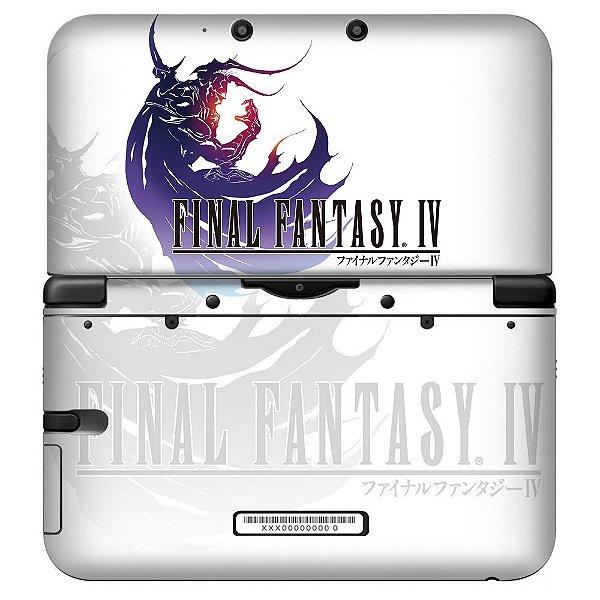 Adesivo Skin de Proteção 3ds XL Final Fantasy IV