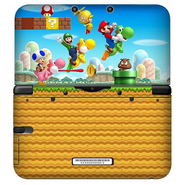 Adesivo Skin de Proteção 3ds XL Mario Mod 02
