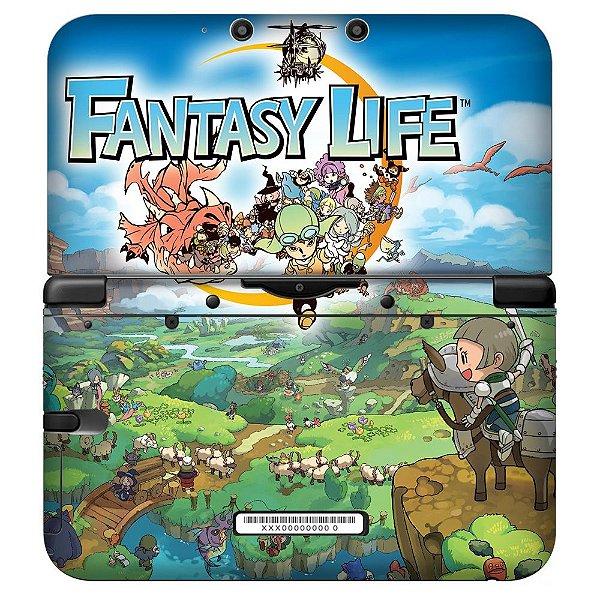 Adesivo Skin de Proteção 3ds XL Fantasy Life