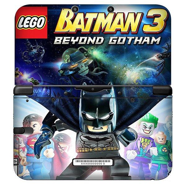 Adesivo Skin de Proteção 3ds XL Lego Batman 3