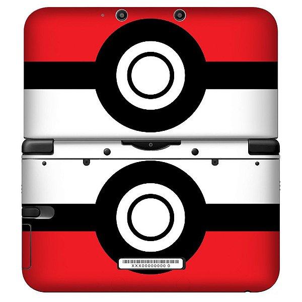 Adesivo Skin de Proteção 3ds XL Pokemon Mod 03