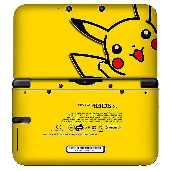 Adesivo Skin de Proteção 3ds XL Pokemon Mod 06