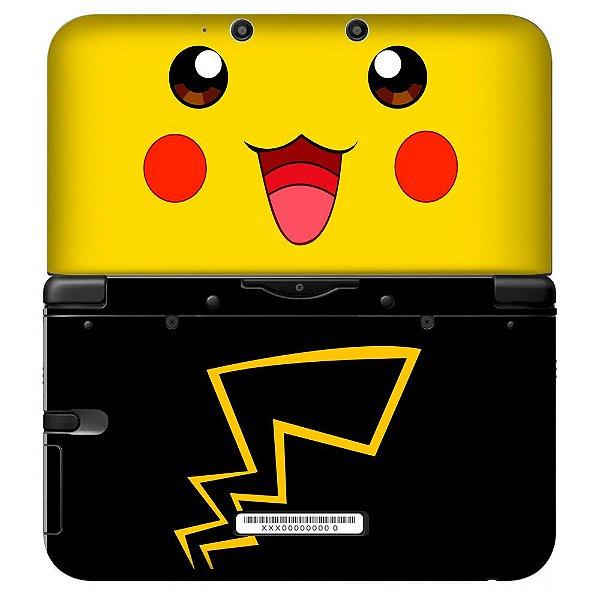 Adesivo Skin de Proteção 3ds XL Pokemon Mod 07