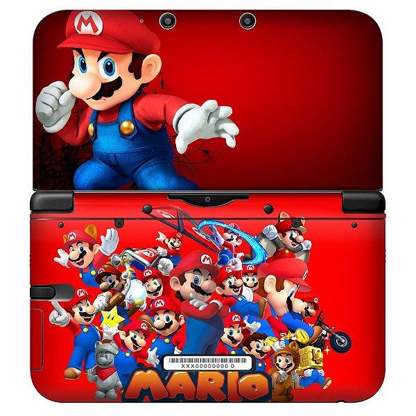 Adesivo Skin de Proteção 3ds XL Mario Mod 04