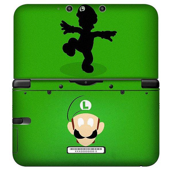 Adesivo Skin de Proteção 3ds XL Luigi Mod 01