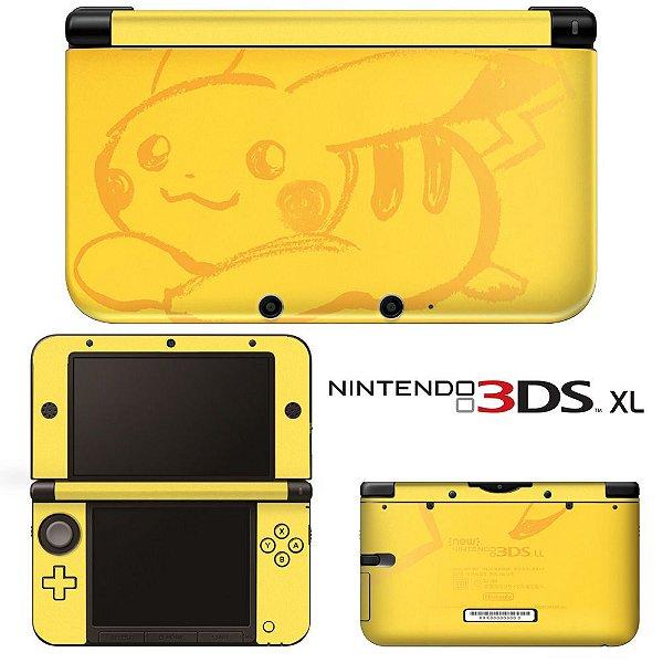 Adesivo Skin de Proteção 3ds XL Pokemon Mod 05