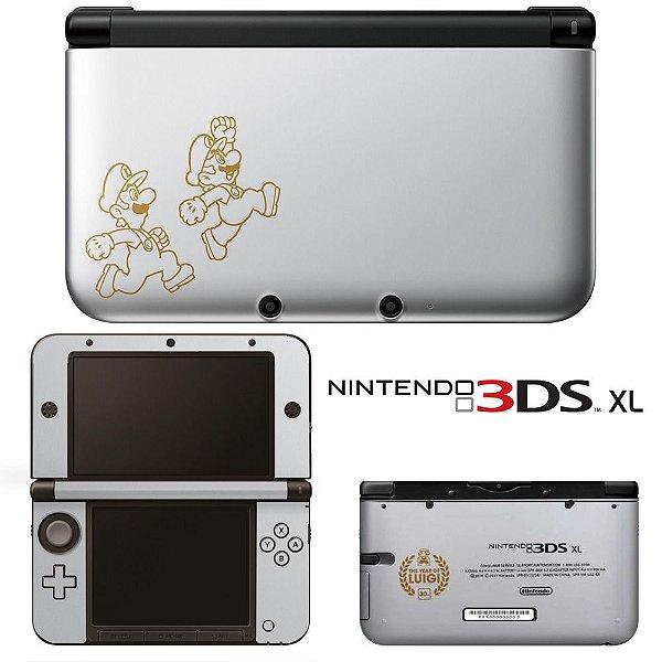 Adesivo Skin de Proteção 3ds XL Mario e Luigi Mod 03