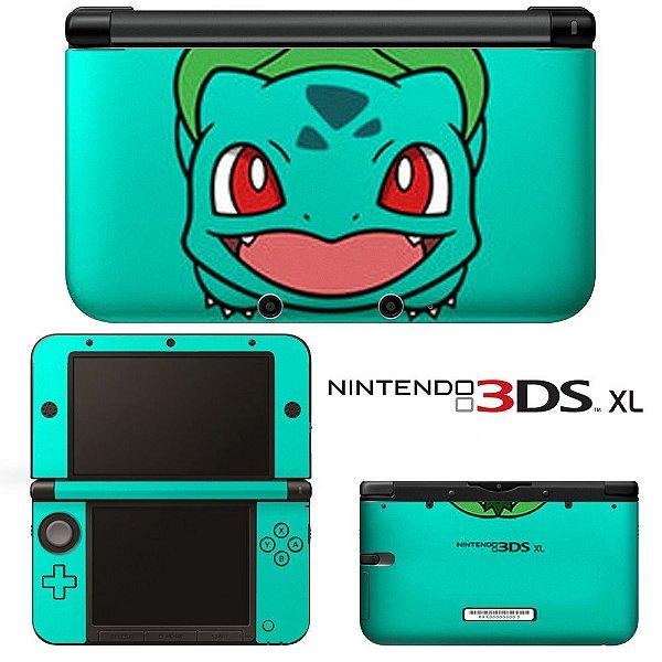 Adesivo Skin de Proteção 3ds XL Pokemon Mod 08