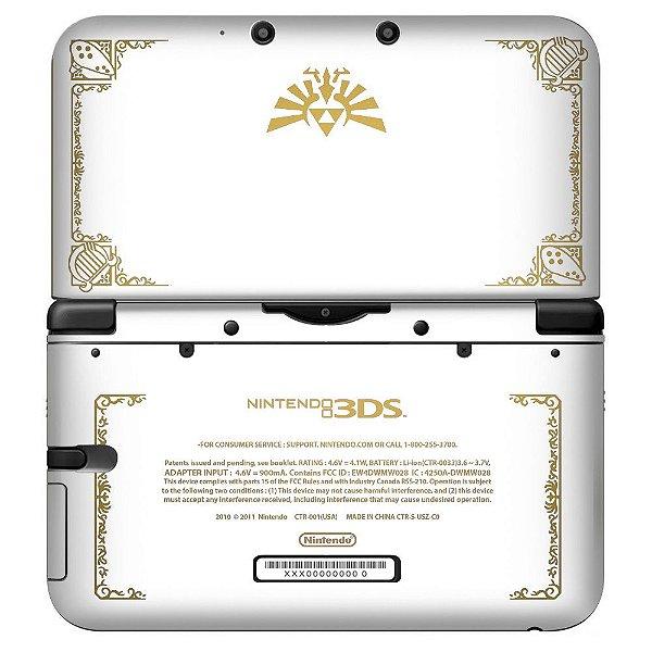 Adesivo Skin de Proteção 3ds XL The Legend of Zelda Mod 06