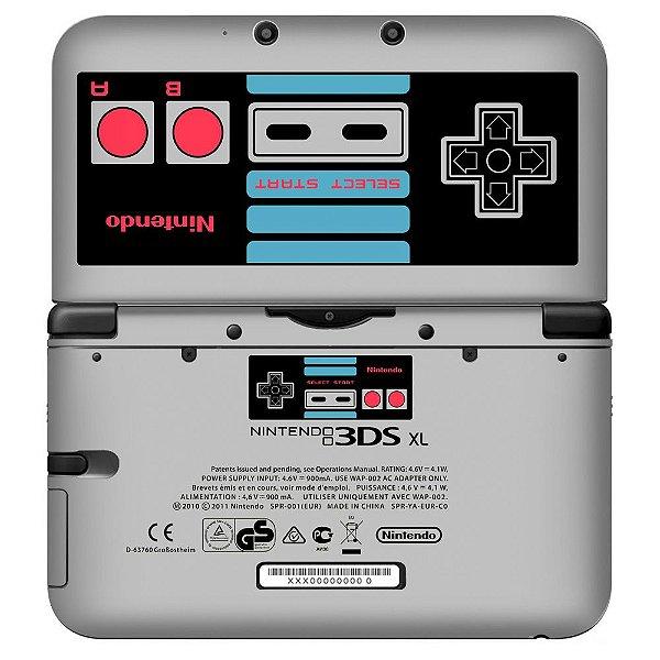 Adesivo Skin de Proteção 3ds XL NES Edition