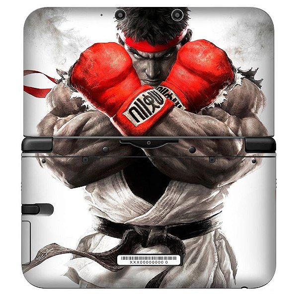 Adesivo Skin de Proteção 3ds XL Street Fighter 5