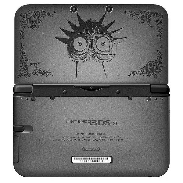 Adesivo Skin de Proteção 3ds XL The Legend of Zelda: Majora's Mask Grey
