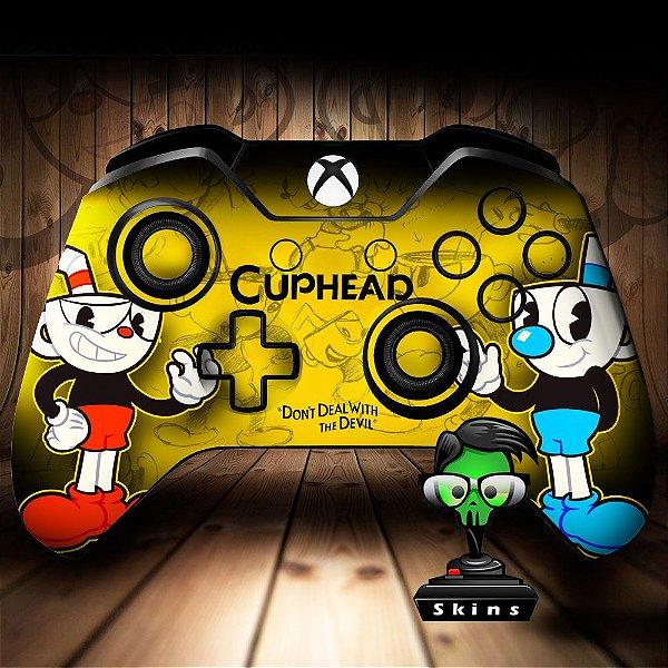 Adesivo de Controle Xbox One Cuphead