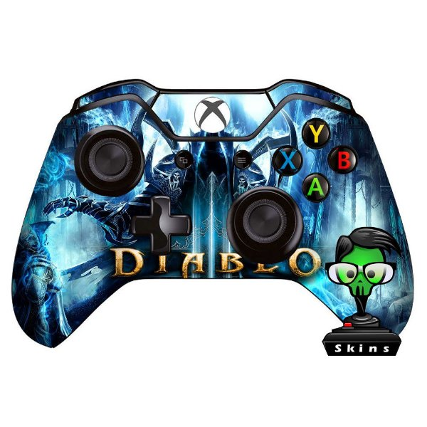 Adesivo de Controle Xbox One Diablo