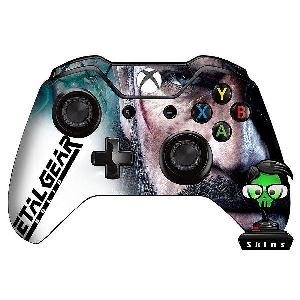 Adesivo de Controle Xbox One Metal Gear Solid