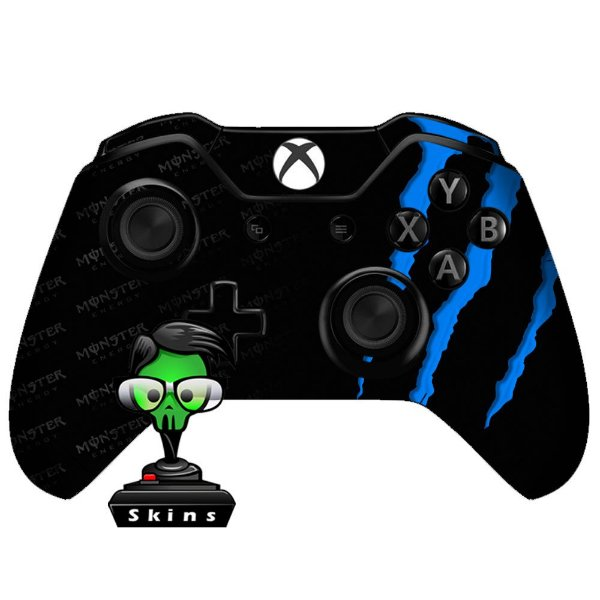 Adesivo de Controle Xbox One Monster Blue
