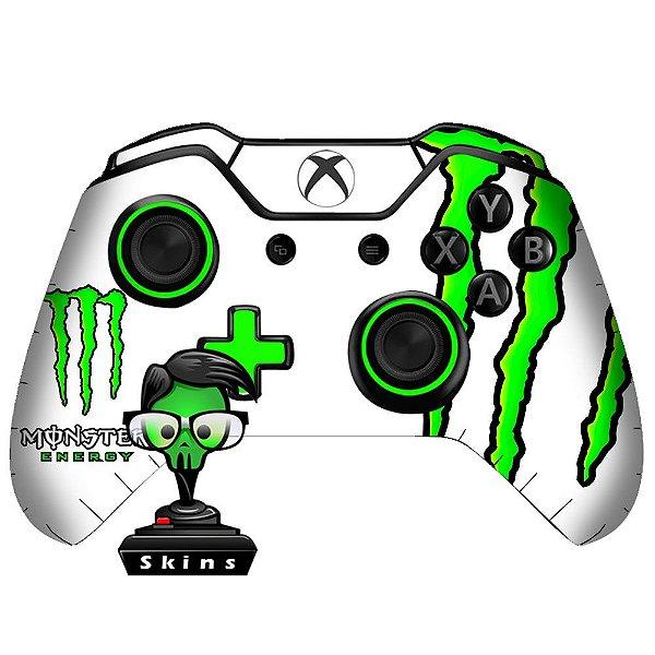 Adesivo de Controle Xbox One Monster White