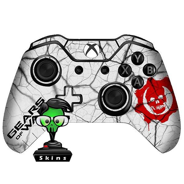 Adesivo de Controle Xbox One Gears Of Wars White