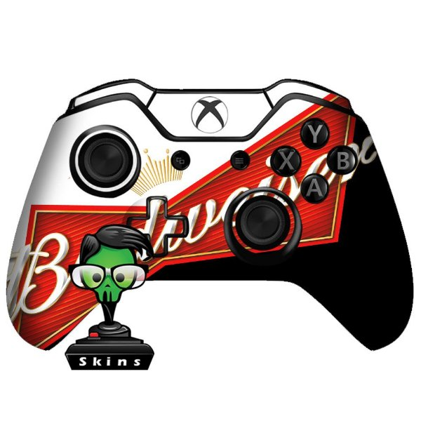 Sticker de Controle Xbox One Budweiser Mod 01