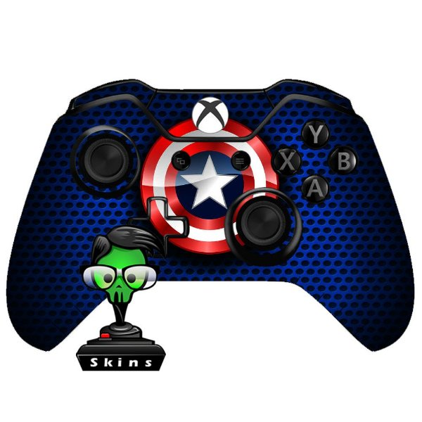 Sticker de Controle Xbox One Capitão América Mod 01
