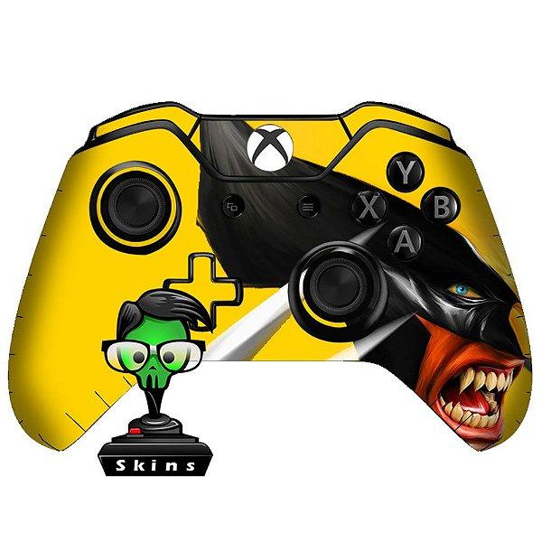 Sticker de Controle Xbox One Wolverine Mod 01