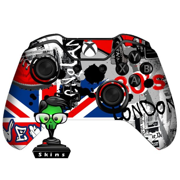 Sticker de Controle Xbox One London Mod 01