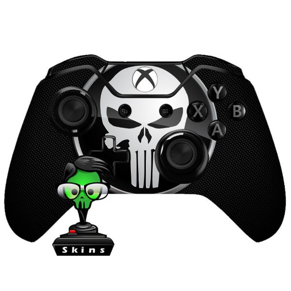 Sticker de Controle Xbox One Punisher Mod 01