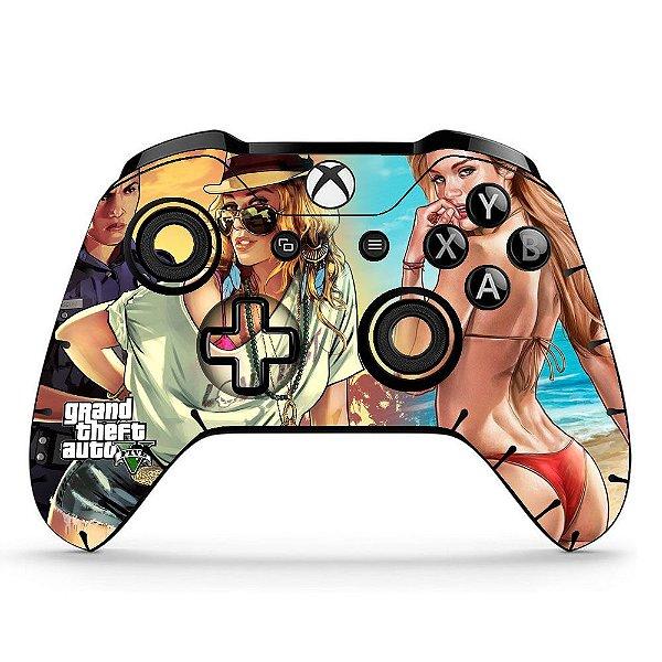 Sticker de Controle Xbox One GTA Mod 02