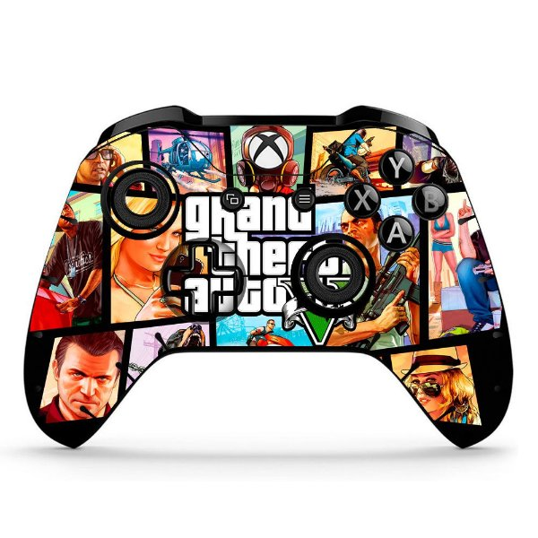 Sticker de Controle Xbox One GTA Mod 03