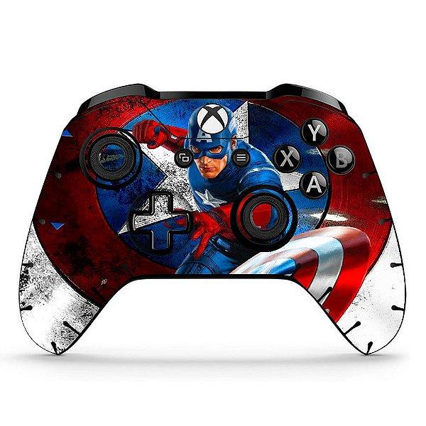 Sticker de Controle Xbox One Capitão América Mod 03