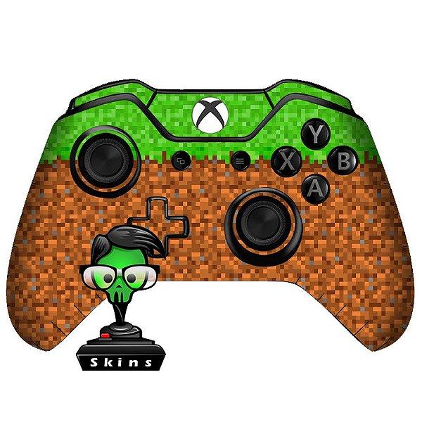 Sticker de Controle Xbox One Minecraft Mod 01