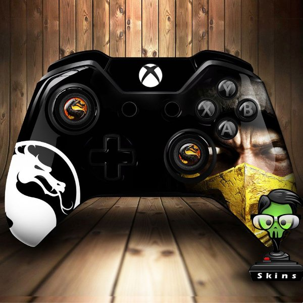 Sticker de Controle Xbox One Mortal Kombat Mod 04