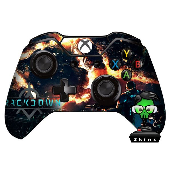 Sticker de Controle Xbox One Crackdown Mod01
