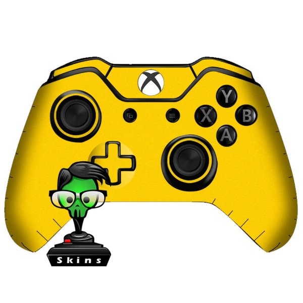 Sticker de Controle Xbox One Yellow Mod 01