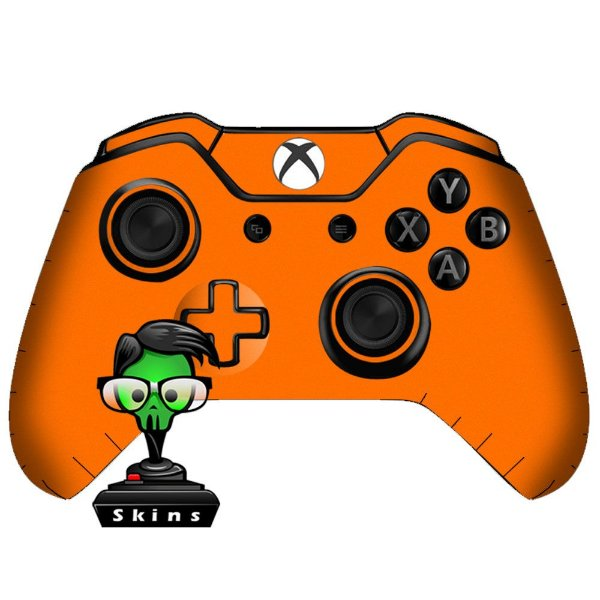 Sticker de Controle Xbox One Orange Mod 01