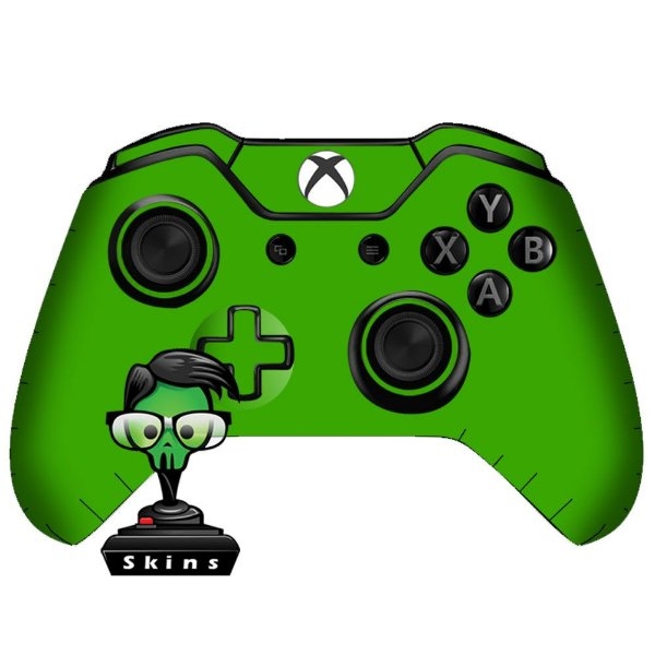 Sticker de Controle Xbox One Green Mod 01