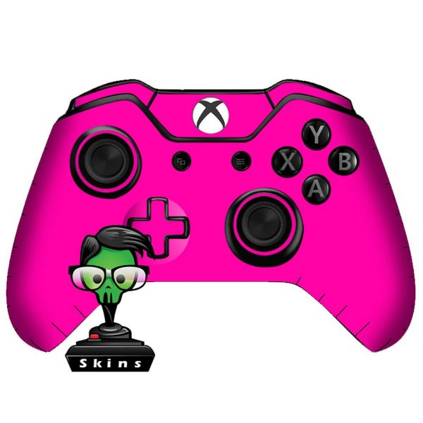 Sticker de Controle Xbox One Rosa Mod 01