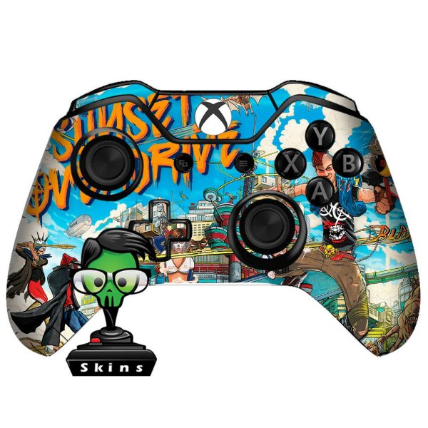Sticker de Controle Xbox One Sunset Overdrive Mod 03