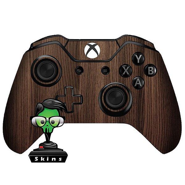 Sticker de Controle Xbox One Madeira Mod 01