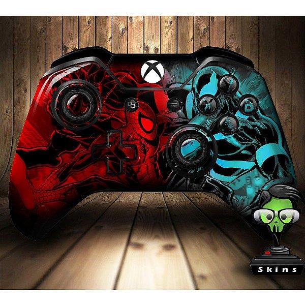 Sticker de Controle Xbox One Spiderman VS Venon