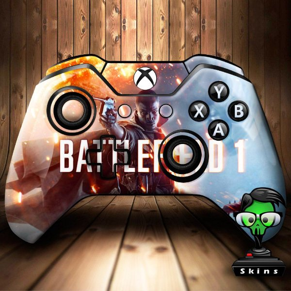 Sticker de Controle Xbox One Battlefield Mod 01