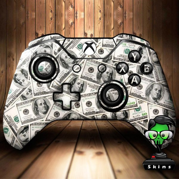 Sticker de Controle Xbox One Dollars Mod 01
