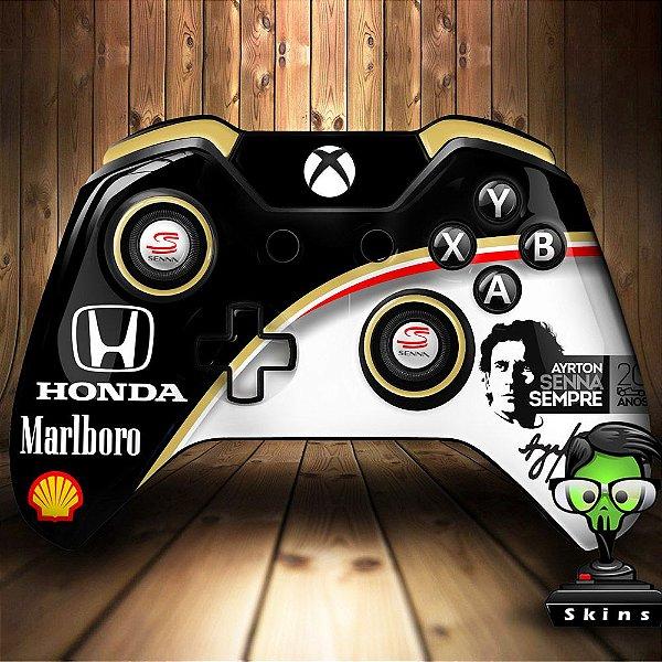 Sticker de Controle Xbox One Senna Mod 01