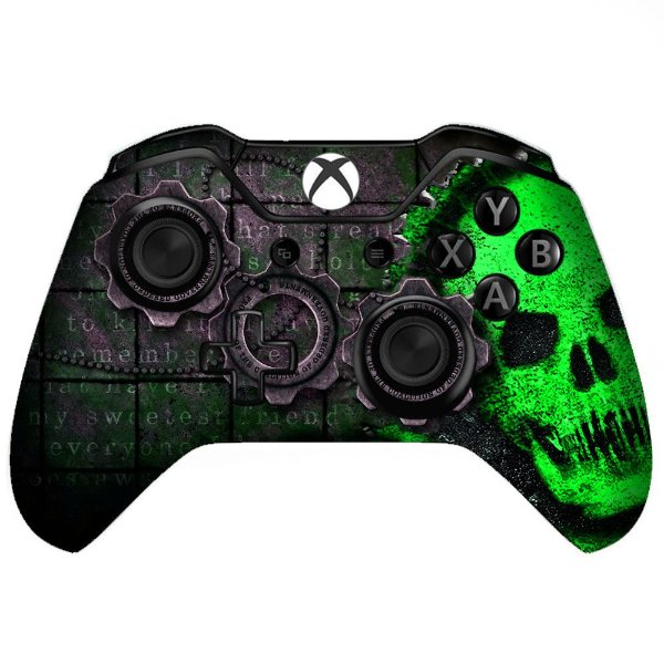 Sticker de Controle Xbox One Gears Of War Green
