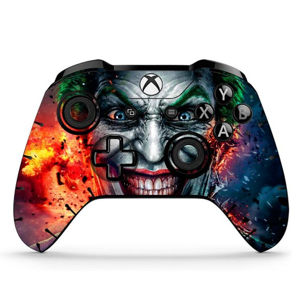 Sticker de Controle Xbox One Coringa Mod 02